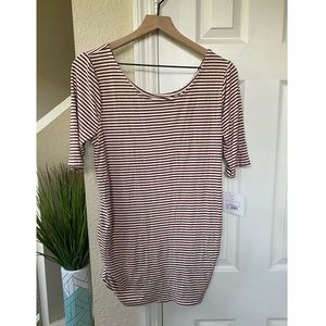 NWT Isabel Maternity Ruched T Shirt Size XL